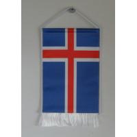 Izland nemzeti asztali zászló