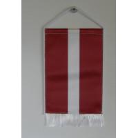 Lett nemzeti asztali zászló