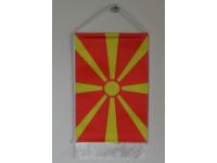 Macedón nemzeti asztali zászló