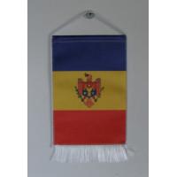 Moldova nemzeti asztali zászló