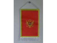 Montenegró nemzeti asztali zászló
