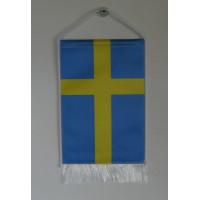 Svéd nemzeti asztali zászló