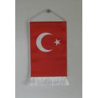 Török nemzeti asztali zászló