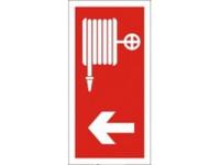 Tűzcsap iránymutató tábla